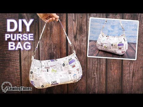 Photo of DIY SHOULDER PURSE BAG | Cute Handbag Sewing Tutorial [sewingtimes]