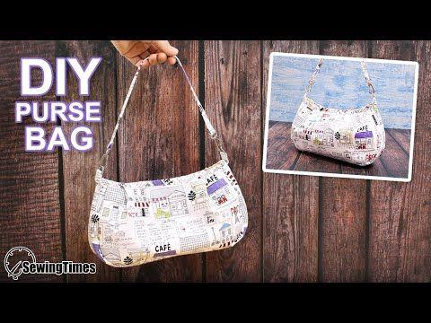 Photo of DIY SHOULDER PURSE BAG | Cute Handbag Sewing Tutorial [sewingtimes]