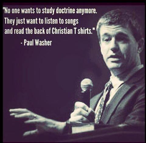 Dig deep into good doctrine.