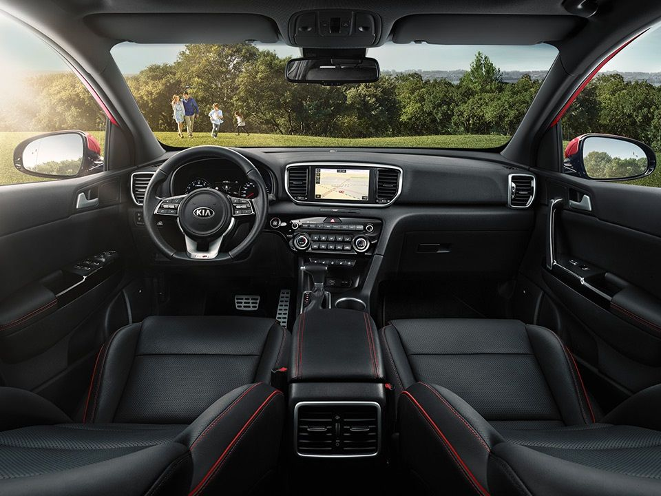 Kia Sportage Refined Interior With The New Ergonomic Cockpit Kia