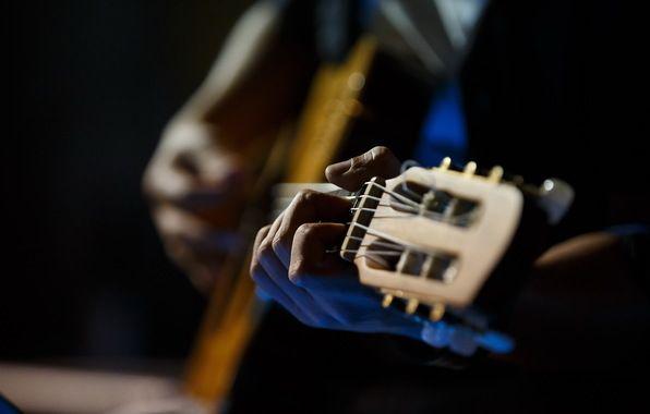 Обои картинки фото гитара, музыка, руки   Гитара, Музыка ...