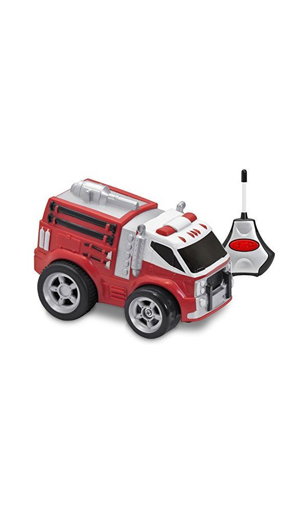 Kid Galaxy Squeezable Remote Control Fire Truck. RC Toy for Preschool Kids  Ages 2 and