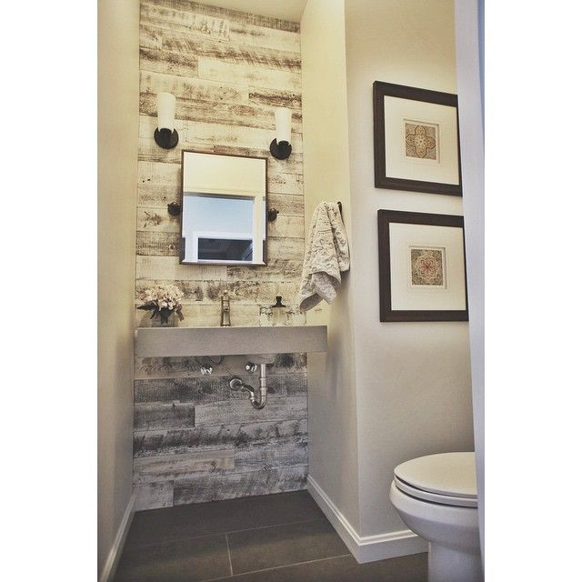 Diy Easy Peel And Stick Wood Wall Decor Simple Bathroom Remodel Wood Wall Bathroom Diy Bathroom Remodel