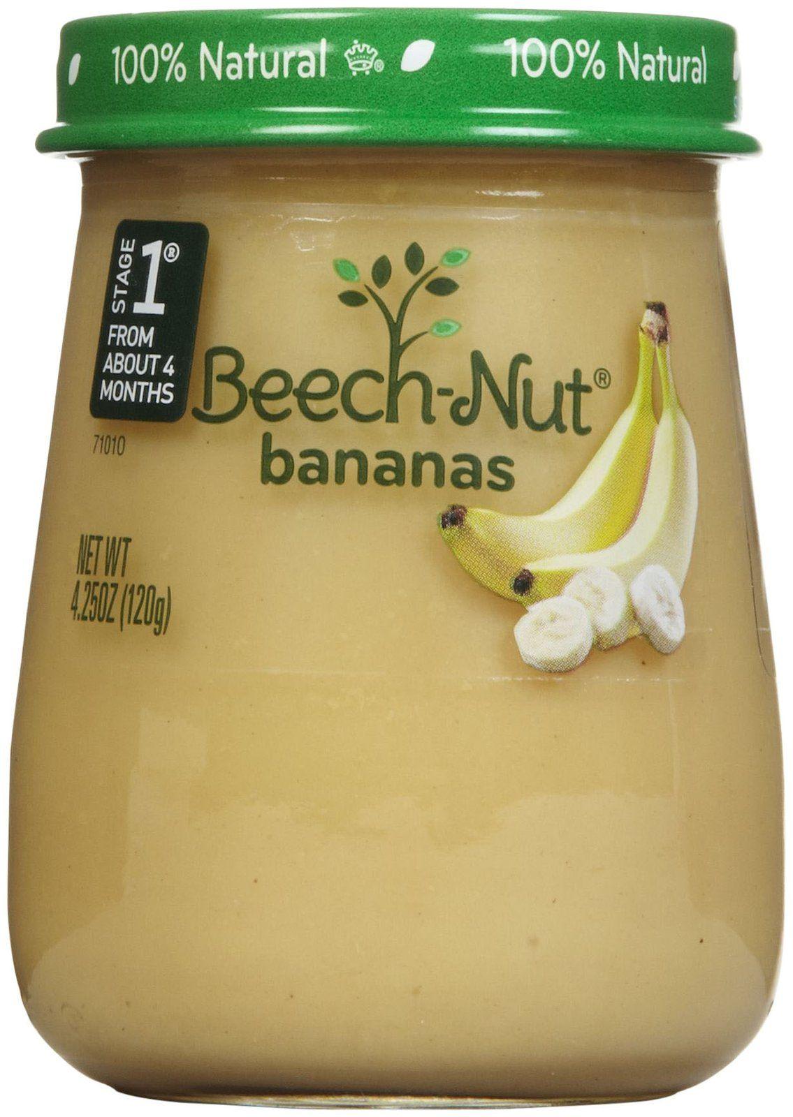 Beechnut stage 1 just purees bananas free shipping
