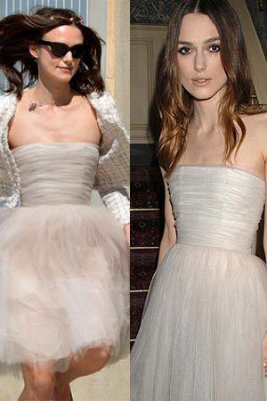 Keira Knightley Chanel wedding dress