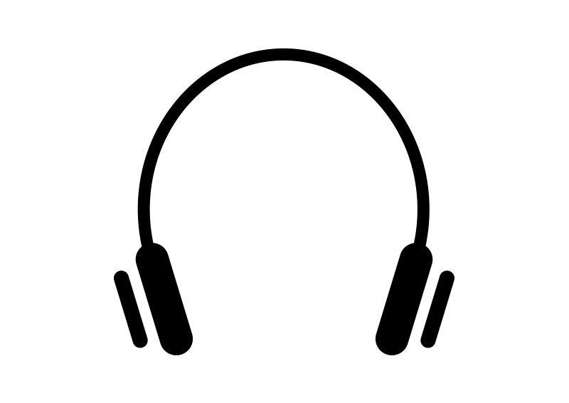 Headphones Vector Icon Headphones Tattoo Headphones Drawing Headphones Art
