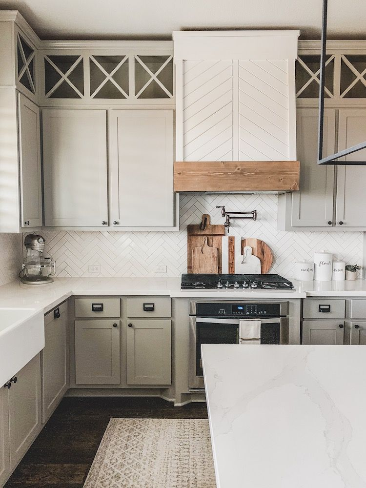 Install For A Modern Farmhouse Kitchen
