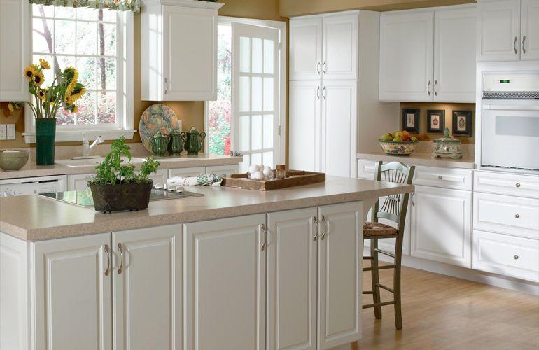 Hampton Bay Online Cabinetry Hallmark Arctic White