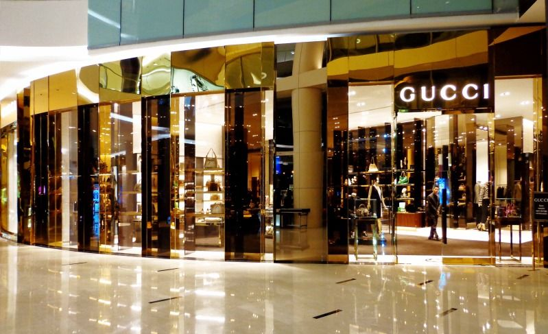 Gucci Senayan City Jakarta Store Front Property Pinterest - Free catering invoice template gucci outlet store online