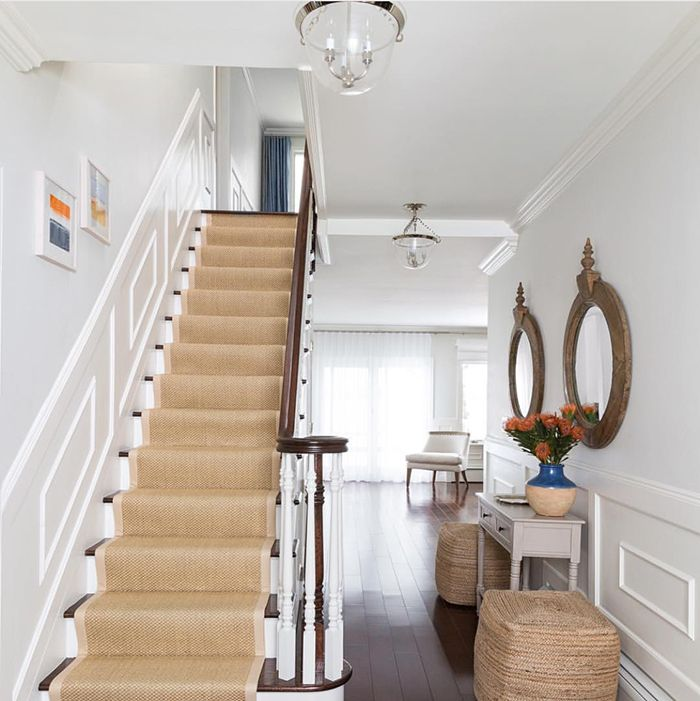 Beautiful Front Hall And Staircase: One Room Challenge Week Three: Entrance Hall