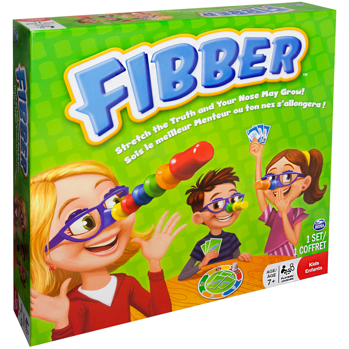 Društvena igra fibber Board games, Board games for kids