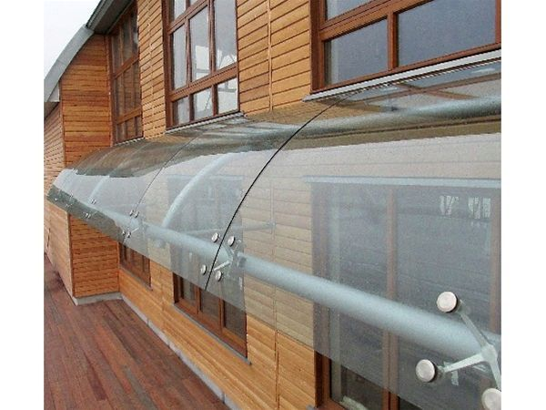 Curved Glass Porch Canopy Glass Porch Porch Canopy Curved Glass