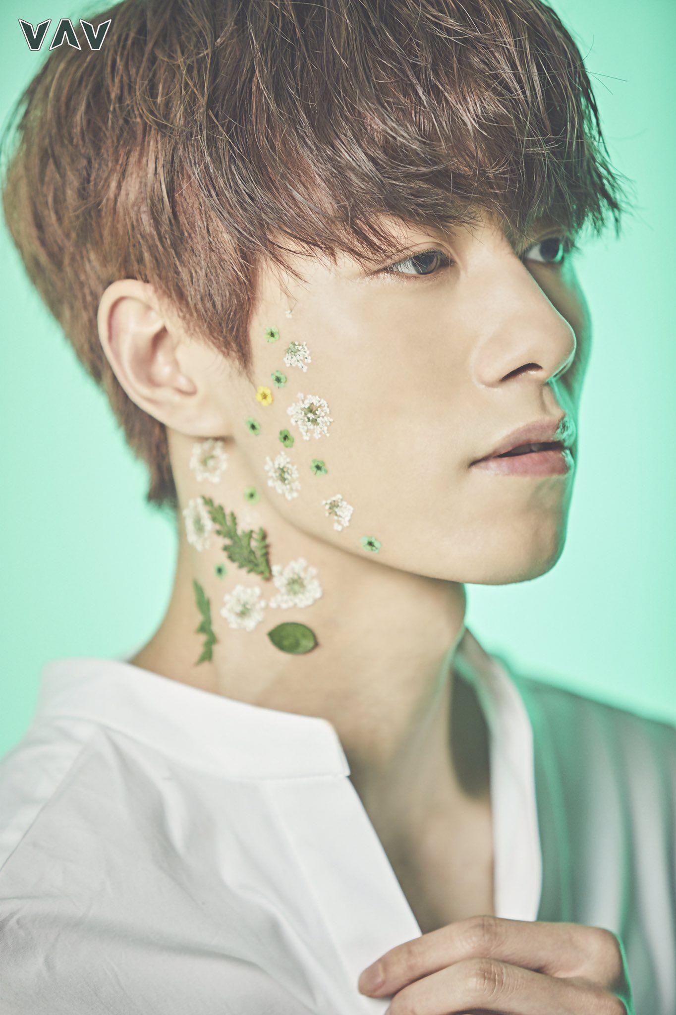 Jacob Vav 2nd Digital Single Album Flower Concept