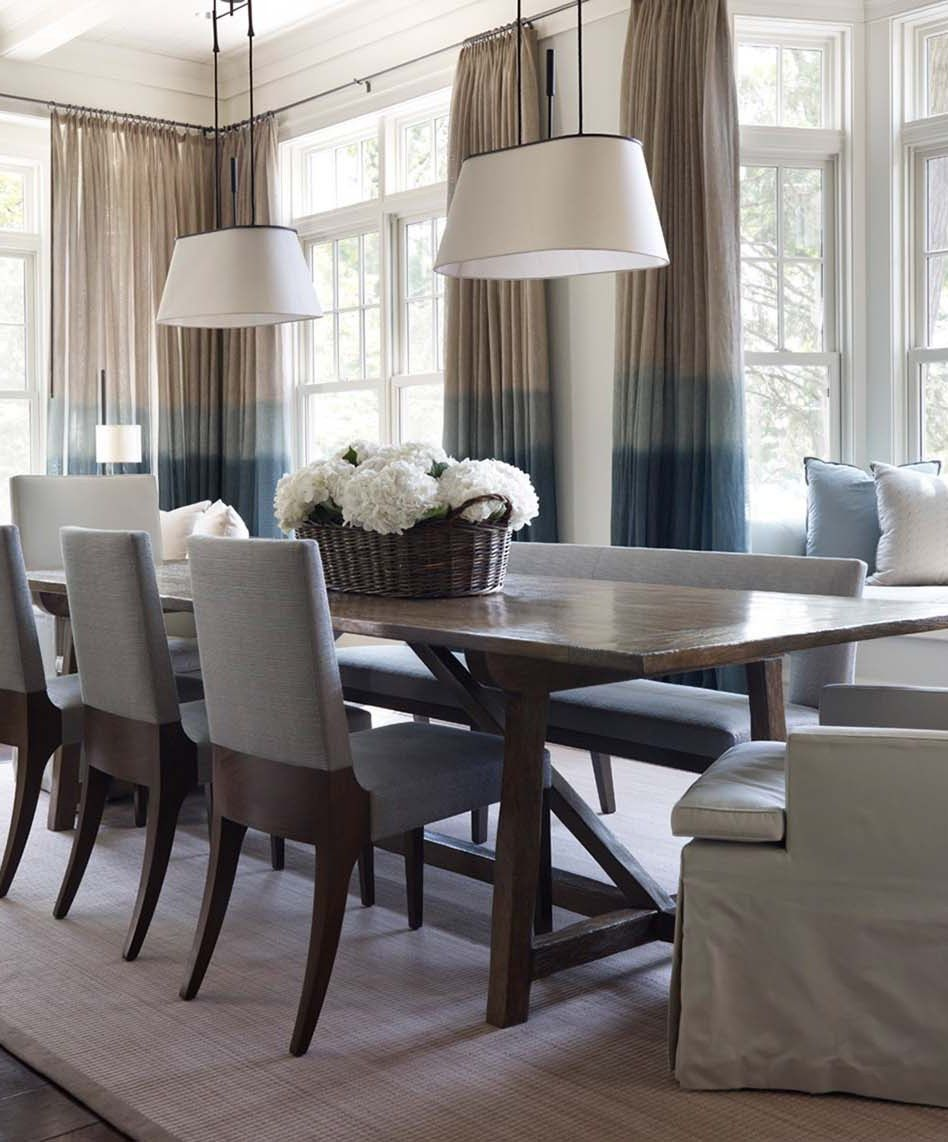 Neutral Dining Room Design Ideas This Beautiful Blue And Gray Stunning Kitchen Dining Rooms Designs Ideas Decorating Design