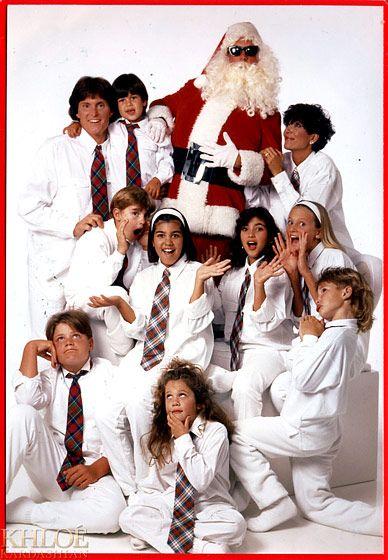 Lovely An Old School Kardashian Christmas Card