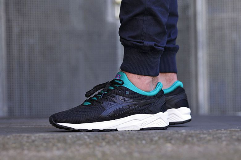 ASICS GEL-Kayano Trainer EVO Black Teal  9778981fcd2a