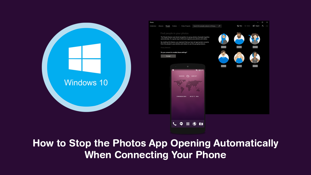 How to Stop the Photos App on Windows 10 Opening When