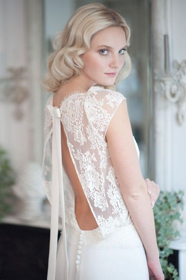 Baby Got Back 30 Showstopping Statement Wedding Dresses French Bridal Designers Fabienne Alagama