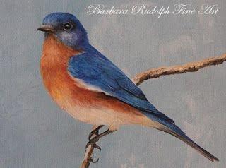 Eastern Bluebird Drawing Bluebird Of Happiness