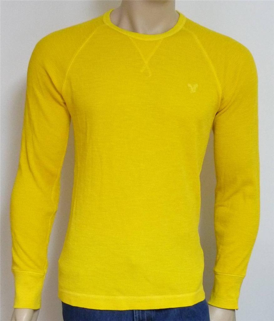 Details about American Eagle Outfitters AEO Mens Yellow Long ...