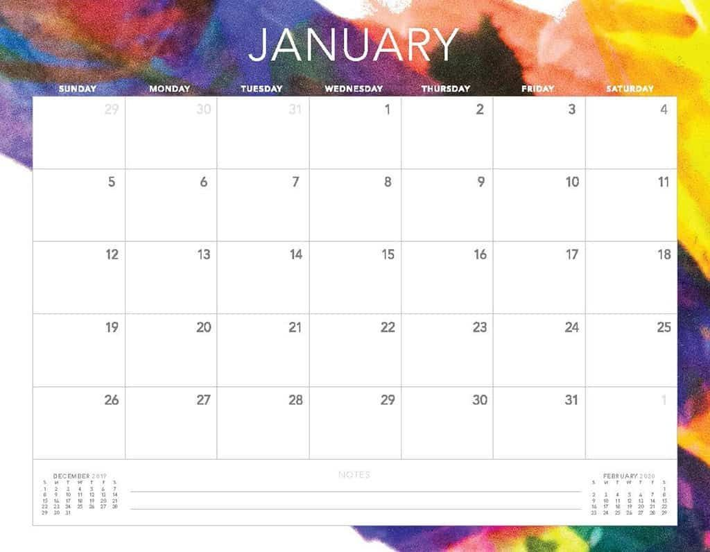 Free 2020 Printable Calendars 51 Designs To Choose From In 2020 Calendar Printables Printable Calendar Design Free Calendar