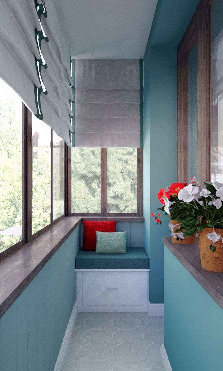 Дизайн маленького балкона: интересные идеи with regard to дл.