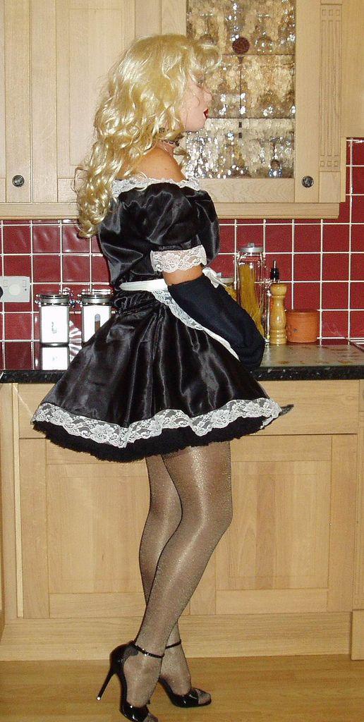 sabrina the maid21.jpg | Maids, Sissy maid and French maid