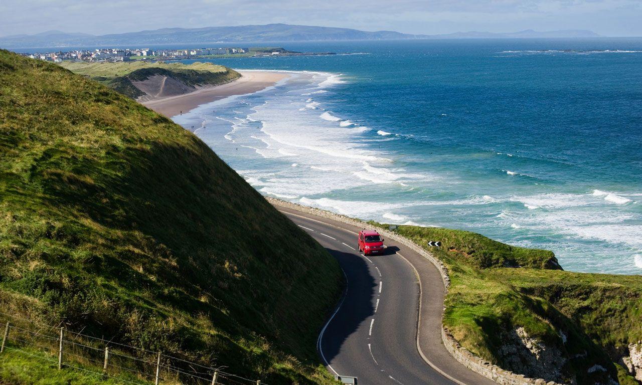 Route cotiere de la chaussee des geants Vacances irlande