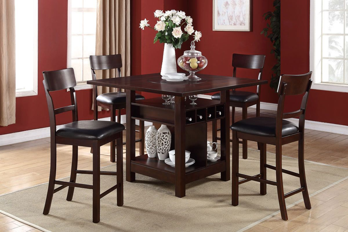 Superbe Bar Height Table And Chairs | Counter Height Dining Table U0026 Chairs   Orange  County Furniture