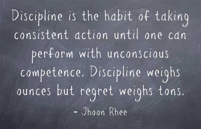 Most People Fall Short Of Their Goals Because Of Lack Of Discipline Today Quotes Discipline Quotes