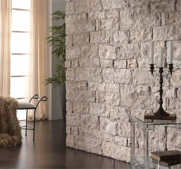Paredes de piedra sala comedor paneles de pared muros - Imitacion a piedra para paredes ...