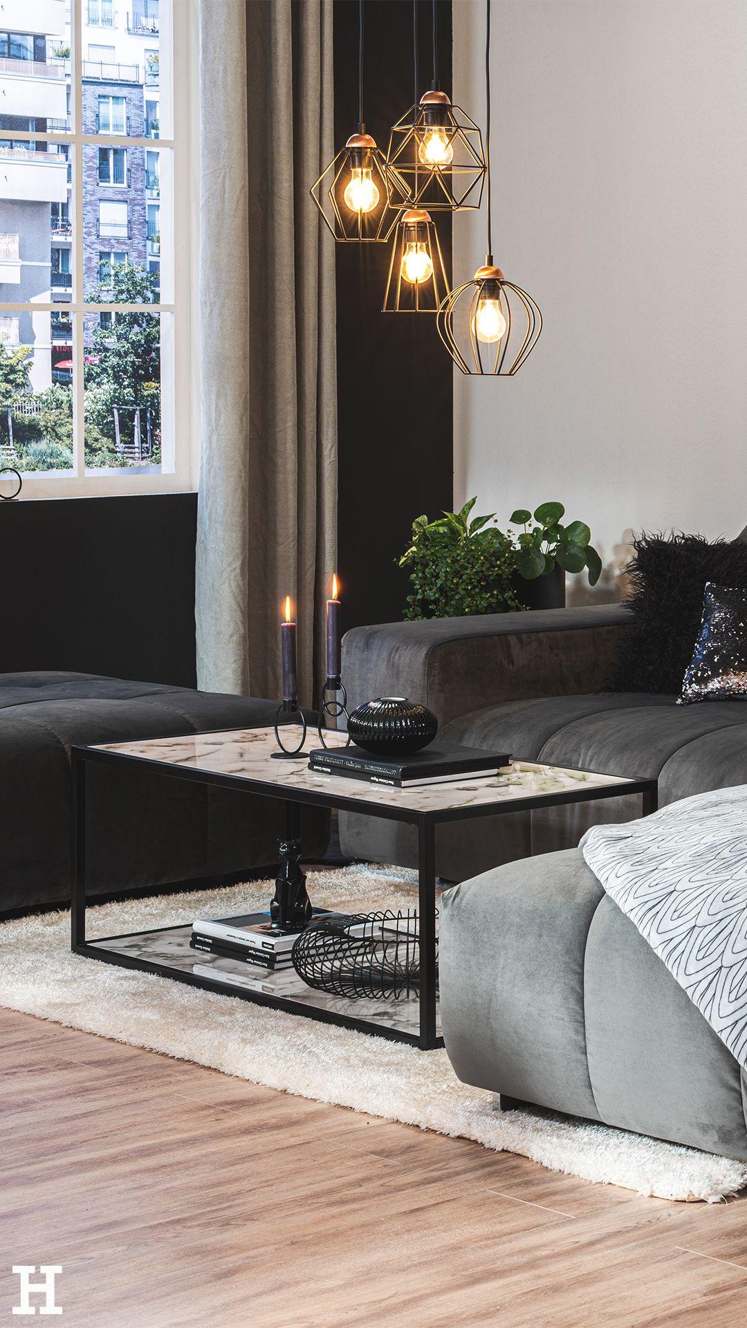 Ideen für den monochromen Interior-Trend im Wohnzimmer