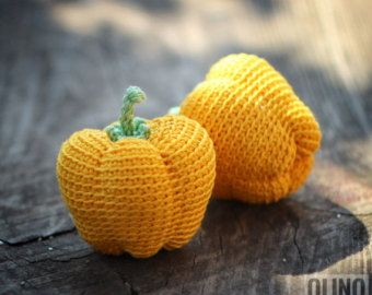 Amigurumi Vegetable Patterns : Corn crochet pattern pdf crochet corn pattern crochet vegetables