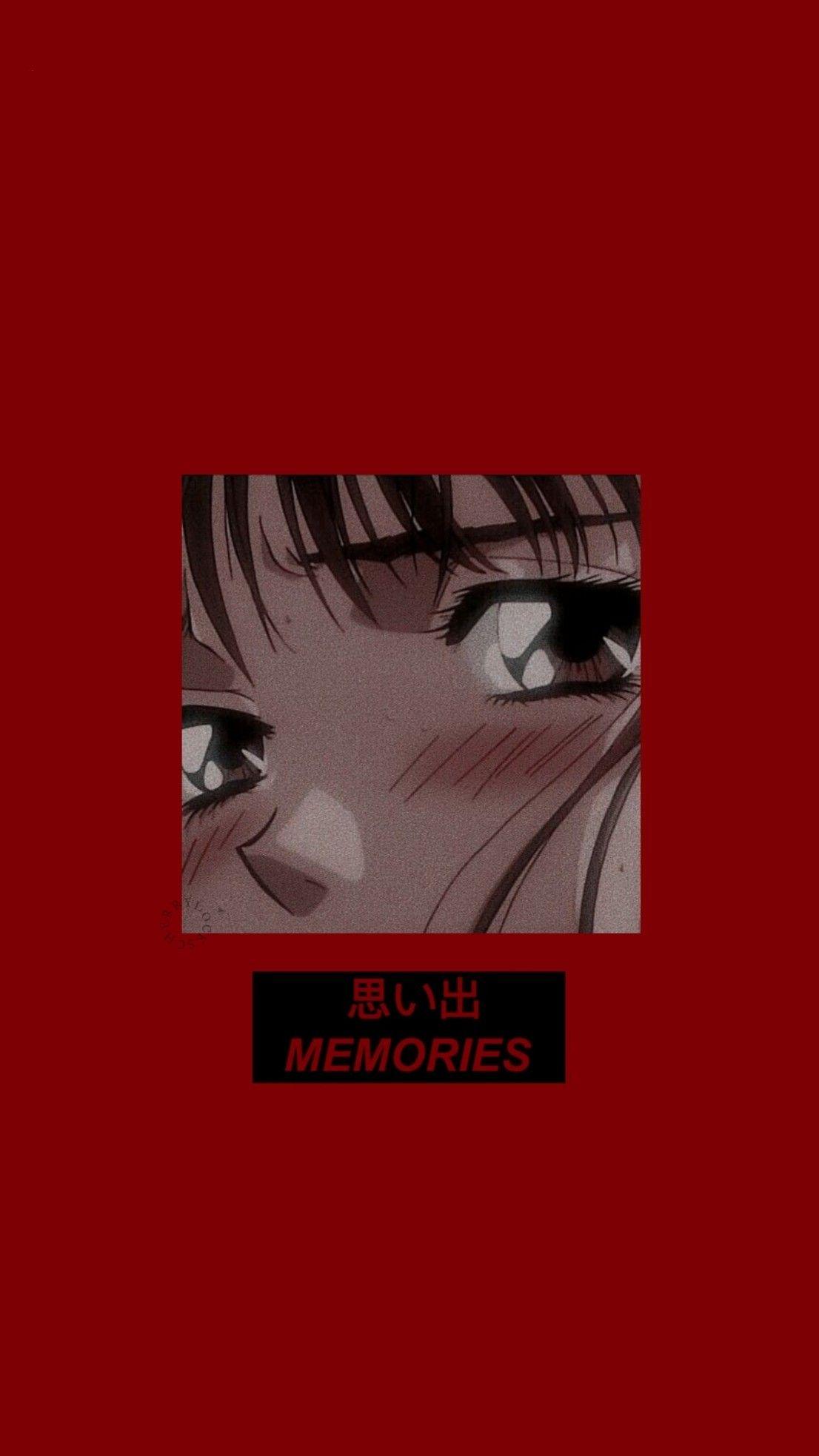 Lockscreen Red Anime Anime Wallpaper Phone Anime Wallpaper Iphone Aesthetic Anime