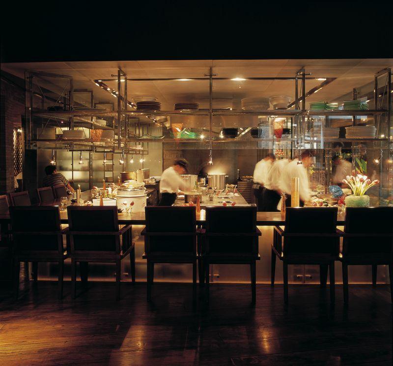 Restaurant With Open Kitchen: Open Kitchen Restaurant, Open