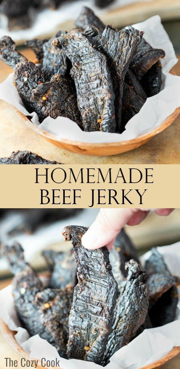 Beef Jerky #marinadeforbeef