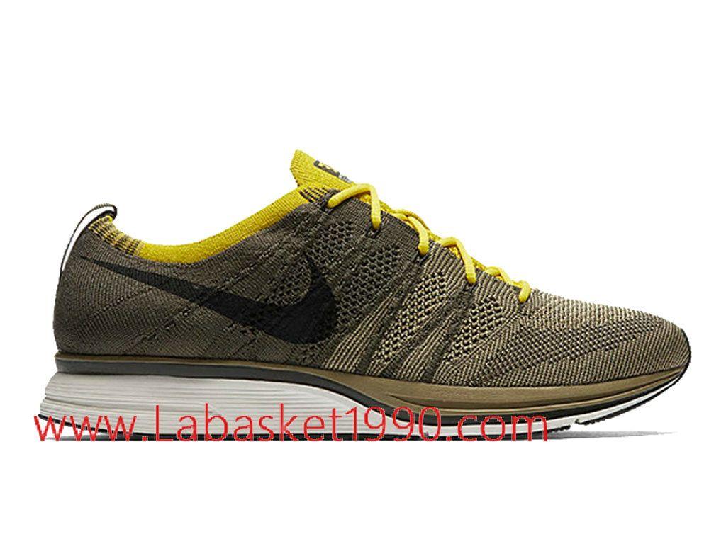 Nike Flyknit Trainer Cargo Khaki AH8396-300 Chaussures Nike Running Pas  Cher Pour Homme Brun Noir-Achetez en ligne les articles signés Nike.