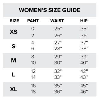 Indian Size Chart      Size Chart
