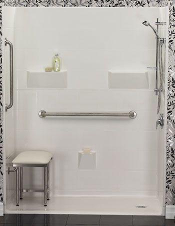 Grab Bars Handicap Accessible Bathtub Replacement Shower