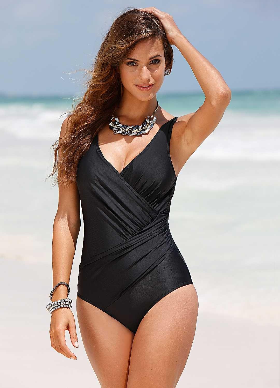 2a1ea1b173 Wraparound Shaper Swimsuit | Beach fashions | Plus size swimwear ...