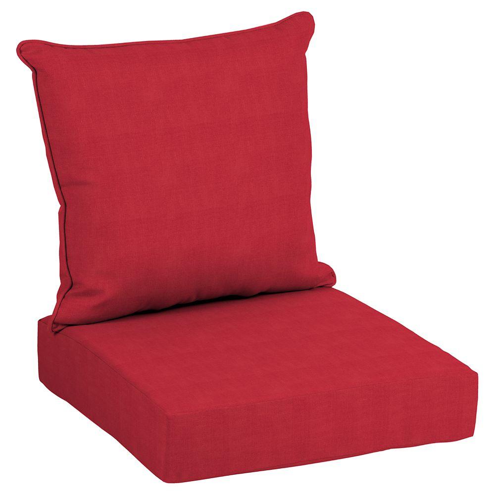 Cushionguard Ruby 2 Piece Deep Seating Lounge Chair Cushion