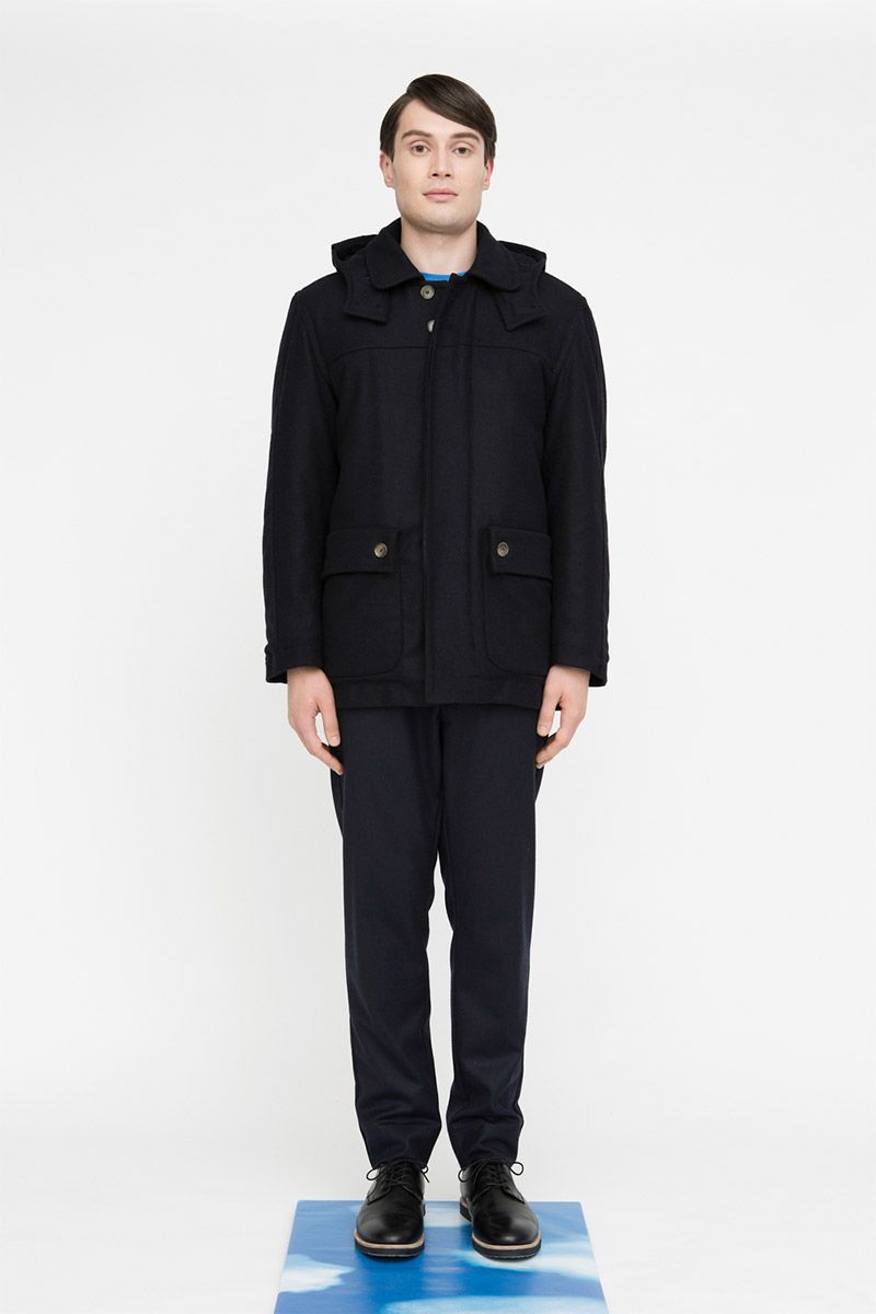 Berlin-based brand FRISUR unveiled its Fall/Winter 2014 lookbook. FRISUR blends elements of classic German design with Scandinavian Minimalism to create season collections for both sexes.