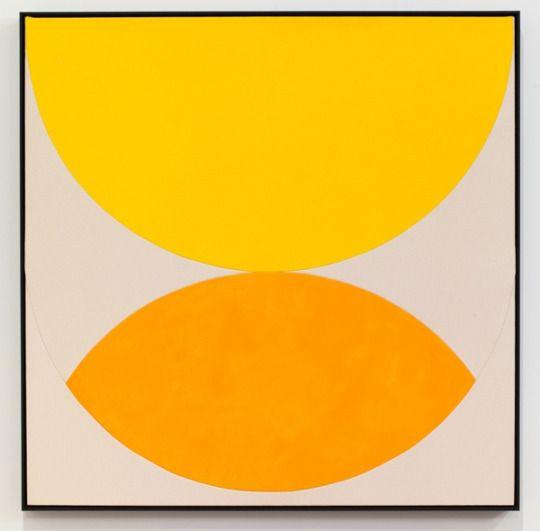 Sarah Crowner - Lemon and Orange, 2014