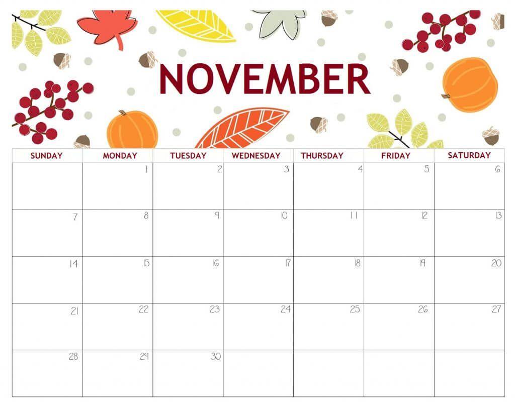 20+ November 2021 Calendar - Free Download Printable ...