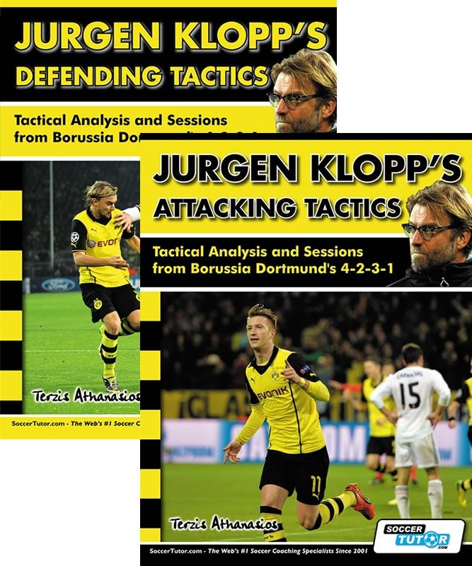 Jurgen Klopp S Attacking And Defending Tactics Book Set Tactical Analysis And Sessions 4 2 3 1 Borussia Dortmund Dortmund Soccer Coaching