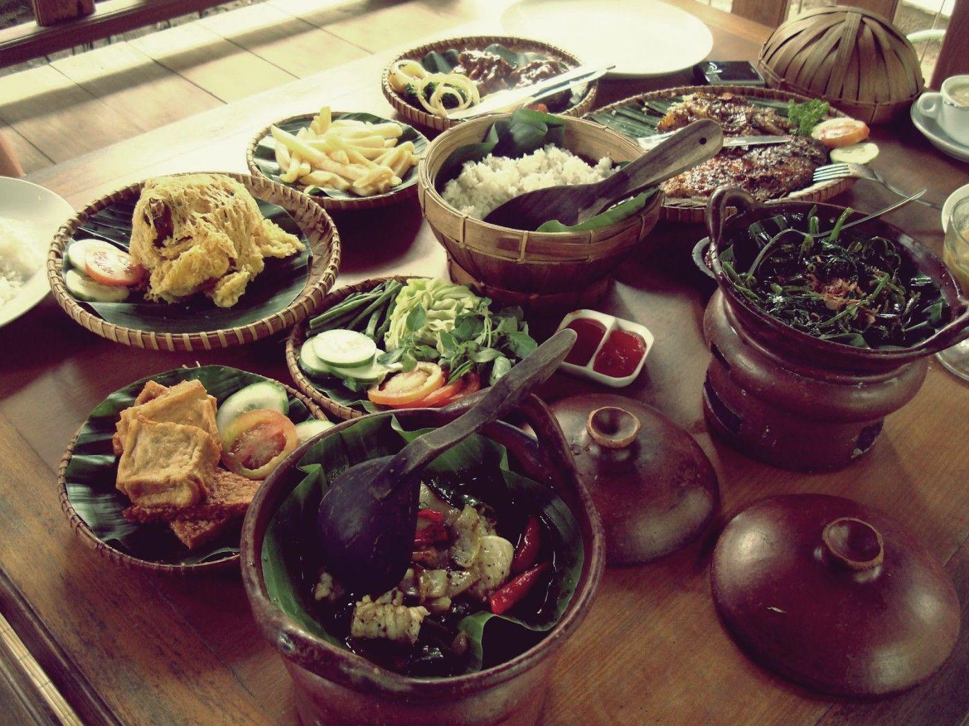Traditional Indonesian Food Resep Makanan Makanan Makanan Dan Minuman