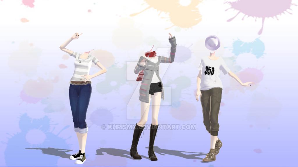 TDA Outfits -DL- By KhrisMx On DeviantArt