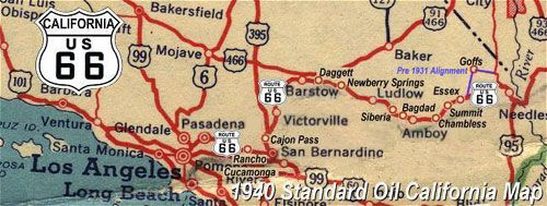 Route 66 Was Extended From Los Angels To Santa Monica Description