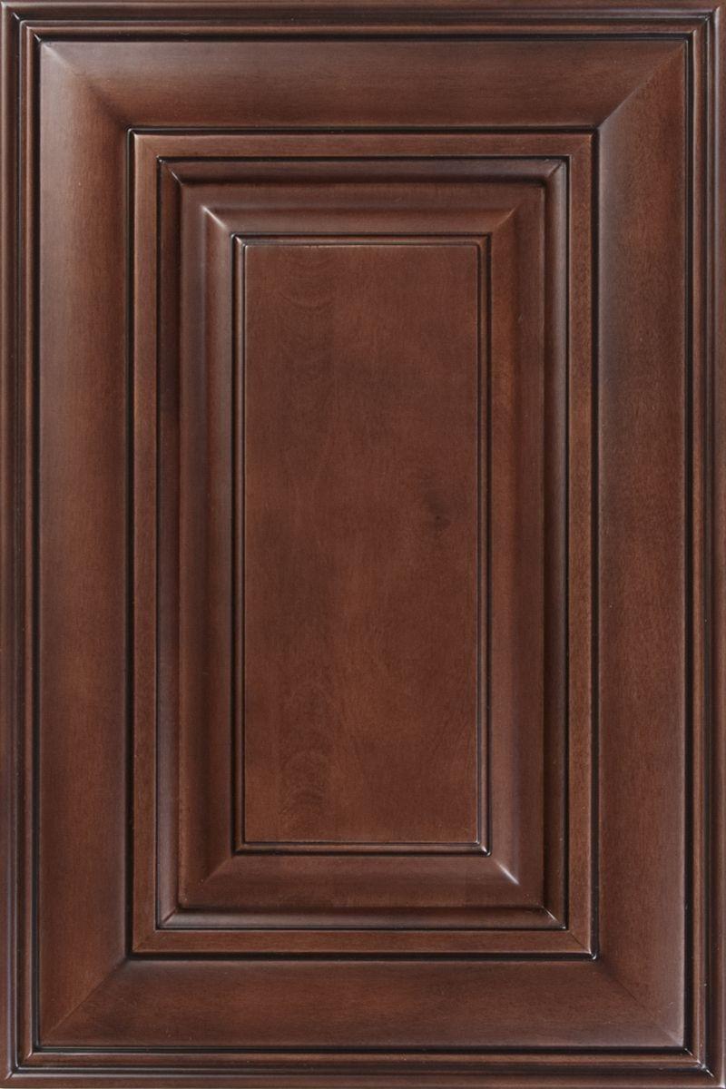 Chocolate Maple Glaze Dark Stain Rta Cabinets Java