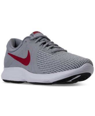 7676b7183 Nike Men's Revolution 4 Wide Width (4E) Running Sneakers from Finish Line |  macys.com